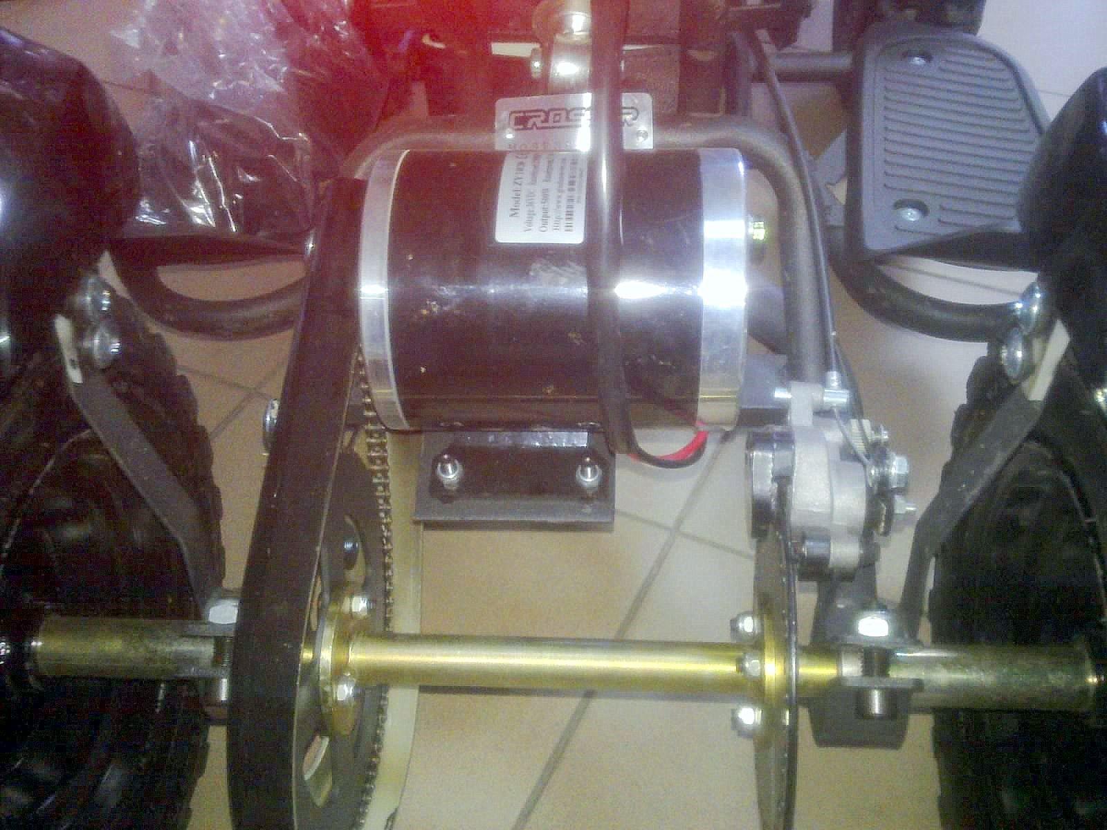 Как сделать двигатель для квадроцикла