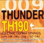 Струны для електрогитары GALLI Thunder Hunter TH190 Extra Light