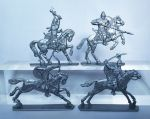 Mounted Cumans- a set of 4 psc