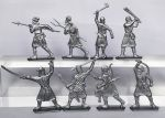 Peasants and Brigands - a set of 8 psc