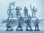 Dismounted Cumans - a set of 8 psc