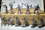 Toy soldiers Knights. Series III - 11 psc