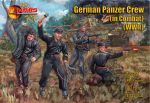 MAR72122 WWII German Panzer Crew in Combat