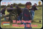 STR182 30 pdr Parrott Rifle with US Crew