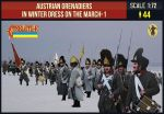 STR209 Austrian Grenadiers On The March (Winter)