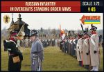 STR219 Russian Infantry in Overcoats Order Arms